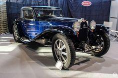 #Bugatti #Type_55 à Epoqu'Auto à Lyon Reportage complet : http://newsdanciennes.com/2015/11/09/grand-format-epoquauto-2015/ #Voitures #Anciennes #Vintage #ClassicCars @salonepoquauto