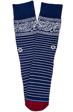 The Driggs Socks in Blue by Stance Socks