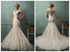 http://www.dhgate.com/product/custom-white-wedding-dresses-mermaid-v-neck/212743573.html