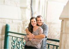 Engagement Session at Kansas State University. Erin Kata Photography.