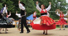 2) Luxembourg, and the people, originated from Portugal. In addition, many people still engage in portuguese traditions, such as dancing.