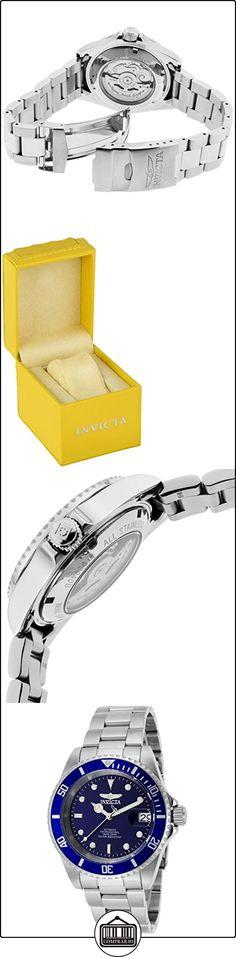 Invicta 9094OB - Reloj para hombre color azul / plateado  ✿ Relojes para hombre - (Gama media/alta) ✿ ▬► Ver oferta: http://comprar.io/goto/B00HLVH1GW