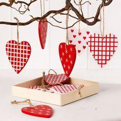 scandinavian christmas hearts how to make