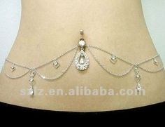 sexy chain diamond 316L stainless steel belly button rings, View sexy belly button rings, Lz Product Details from Shenzhen Lizi Technology C...