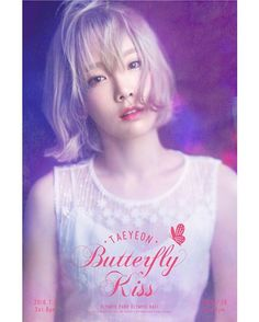 TAEYEON ・ᴥ・ Butterfly Kiss 可愛すぎてヤバイ - Taeyeon Candy News ☺ Snsd #taeyeon #snsd