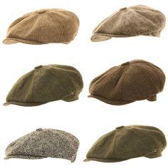 8a34ff9e732 Mens Ladies Herringbone Baker Boy Caps Newsboy Hat Country Gatsby  Flat Cap  Baker Boy Cap