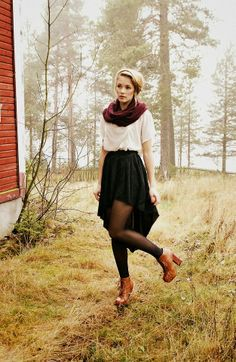 Y. A. Q. - Blog de moda, inspiración y tendencias: [Y ahora qué me pongo con] Una falda negra