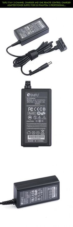 TAIFU 17.4V 2-Channel Charger and One Remote Control Charger Adapter Power Supply for DJI Phantom 3 Professional Quadcopter 4K UHD Video Camera Drone, DJI Phantom 3 Standard Advanced Quadcopter Drone #tech #drone #camera #dji #3 #phantom #battery #standard #oem #technology #parts #shopping #products #kit #gadgets #fpv #racing #plans