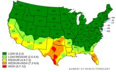 Free 4-Day Allergy Forecast for EULESS, TX | Pollen com