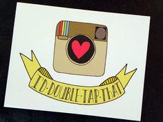 Lol Instagram inspired card