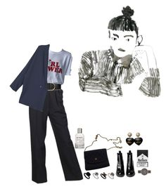 """""""Untitled #102"""" by liliakorobkina ❤ liked on Polyvore featuring Chanel, STELLA McCARTNEY, MANGO, Topshop, Le Labo and Skagen"""