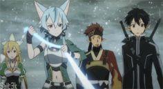 sword art online 2 kirito and sinon - Google Search