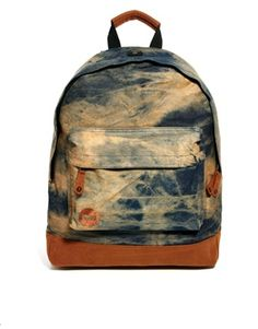 Mi-Pac Bleached Backpack