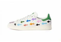 Pharrell Customized 10 Pair of The Stan Smiths for Colette Colette 76230b25ea98