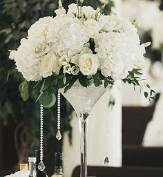 Белоснежная свадьба, декор места торжества