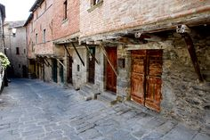 one of Cortona, Italy's medieval houses.