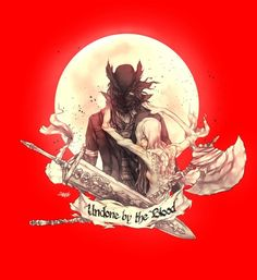 "We are born of the blood, made men by the blood, undone by the blood."" Undone By The Blood Bloodborne Concept Art, Bloodborne Art, Dark Blood, Old Blood, Dark Souls 2, Dark Pictures, Desenho Tattoo, A Level Art, Soul Art"