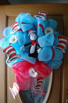 This would be so cute for Dr. Seuss Day