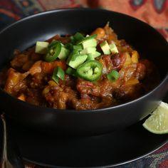 A Vegan Pumpkin Chili That's NSFW: Have you heard of Thug Kitchen?