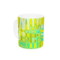 Changing Gears in Sunshine by Vikki Salmela 11 oz. Ceramic Coffee Mug