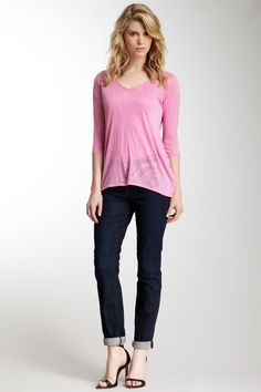 Skinny Minnie Cord Pocket Jean by Miraclebody Jeans on @HauteLook