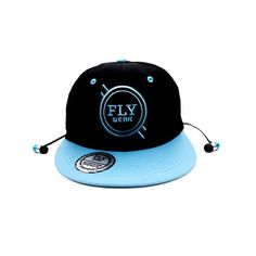 The FLY Wear Bluetooth Snapback (Black/Blue) has launched street fashion into the 21st century. Taken an essential street style accessory, this trendy snapback cap includes the latest Bluetooth technology. By fusing the best of both worlds you can now wear your Bluetooth Snapback Cap, not only to accessorise your outfit, but to take calls and listen to your favourite tunes from up to 10m away from your Bluetooth device – handsfree!