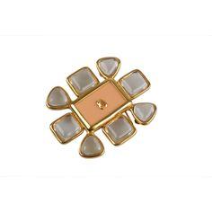 497ddf3ef9688d Chanel Vintage 1996 Gold Metal Brooch #authentic #fashion #vintage #persol  #bags. OPHERTY & CIOCCI