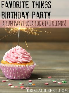 Looking for a fun party idea for girlfriends? You'll love this one, and so will your friends!