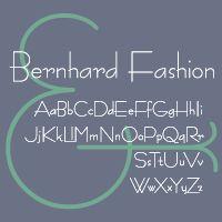 Bernhard Modern potrebbe essere un font adatto al mio lavoro.