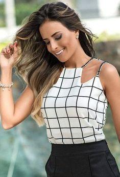 Imagem do pin moda amarilla en 2019 blouse designs, fashion y fashion outfi Cute Fashion, Diy Fashion, Ideias Fashion, Fashion Dresses, Womens Fashion, Fashion Design, Moda Fashion, Looks Pinterest, Diy Mode