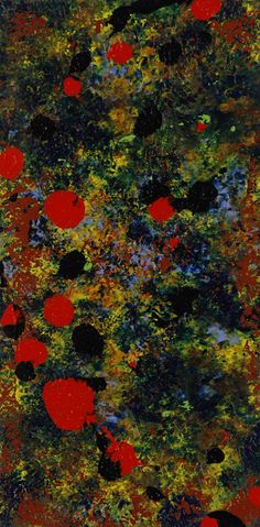 """Serenade To Clyfford Still 2 - F.6776 Circa: 2011 AD  Dimensions: 24"""" (61.0cm) high x 12"""" (30.5cm) wide"""