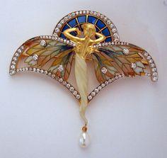 Masriera Nymph Pendant/Brooch PB-18 - Hartmann Jewelers