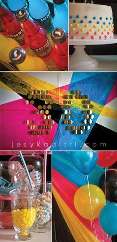 CMYK 30th Birthday - LOVE LOVE LOVE THIS IDEA!!!!!!!!