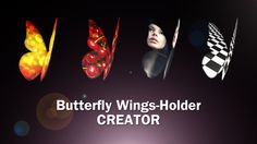 Butterfly Wings Creator by Wiggle_Media This project allows you to customize the wings of a butterfly with your media. Simple and intuitive, you can create flying butter