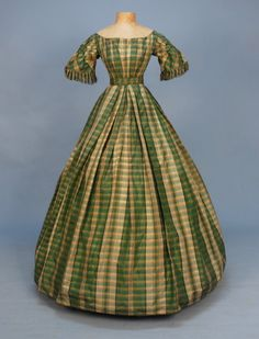 Dress  1850s  Whitaker Auctions