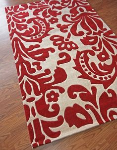 Parisian Rug in Red, gorgeous!