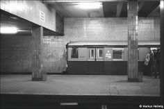 S-Bahnhof Anhalter Bahnhof (1984) East Germany, Berlin Germany, Bahn Berlin, Reunification, S Bahn, Public, Berlin Wall, 1984, Old Photos
