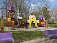 Holandia Walibi World - plac zabaw