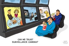 Ring, the Amazon-owned home security system, is under new scrutiny after firing employees for improperly accessing Ring users' video data. This news highlights a risk that exists across many tech companies: The post Cartoon of the Week: Ring Fires Employees for Watching Customer Videos appeared first on eXo Platform Blog.