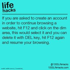 1000 life hacks is here to help you with the simple problems in life. Posting Life hacks daily to help you get through life slightly easier than the rest! Life Hacks Computer, Computer Basics, Computer Help, Phone Hacks, Computer Tips, Computer Keyboard, Life Hacks For School, 1000 Life Hacks, Technology Hacks