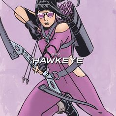 """""""Excuse me, I'm here to make a deposit. Do you accept… SASS?!"""" - Kate Bishop in Hawkeye #1"""