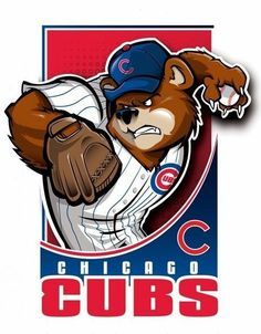 - Page cannot be found Chicago Cubs: A bear cub winds up a pitch.Chicago Cubs: A bear cub winds up a pitch. Chicago Cubs Fans, Chicago Cubs World Series, Chicago Cubs Baseball, Baseball Art, Baseball Tattoos, Football, Mlb Team Logos, Nfl Logo, Mlb Teams