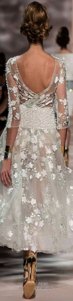 Georges Chakra SS2016 Haute Couture | Purely Inspiration: