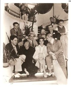 """Fred Astaire, Ginger Rogers and the cast of """"Flying Down to Rio"""""""