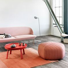 Muuto Varjo Rug - 170 x 240 Decor, Furniture, Pink Furniture, Elle Decor, Home, Furnishings, Interior, Small Living Rooms, Home Decor