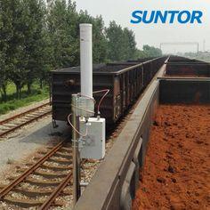 Railway wireless monitoring customized solution.