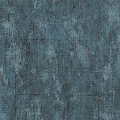 Graham & Brown vliesbehang 101667 blauwe kleurlijn beton blokken blauw 10 meter | Vliesbehang | Behang | GAMMA