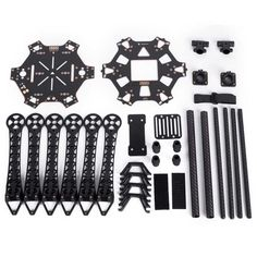 PCB Quadcopter Frame Kit with Landing Gear Skid for FPV Quadcopter FPV Drone. Find the cool gadgets at a incredibly low price with worldwide free shipping here. S550 Carbon Fiber Multi-rotor Air Frame Kit - Black, Other Accessories for R/C Toys, . Tags: #Hobbies #Toys #R/C #Toys #Other #Accessories