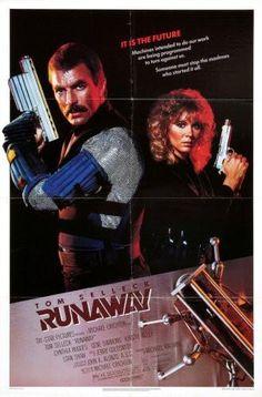 Runaway Movie Poster 24x36 Tom Selleck