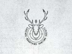 Vintage Graphic Design Vintage Fantasy Hunting Logo - Check for more pixels.